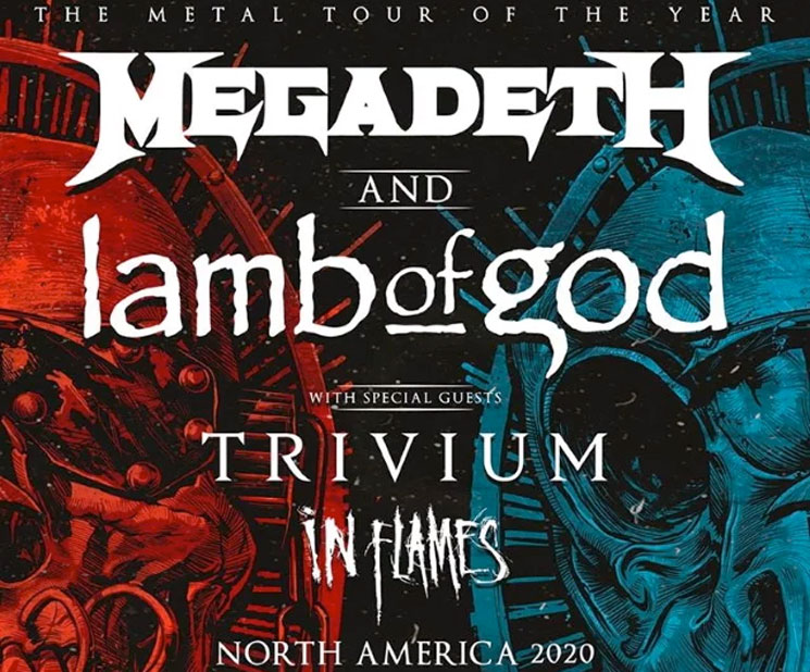 Megadeth and Lamb of God Join Forces for North American Tour