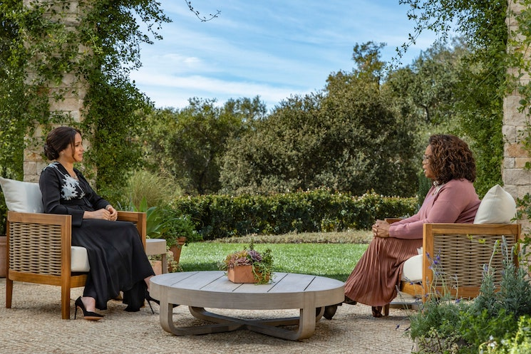 Here's Everything That Happened in Oprah's Interview with Meghan Markle
