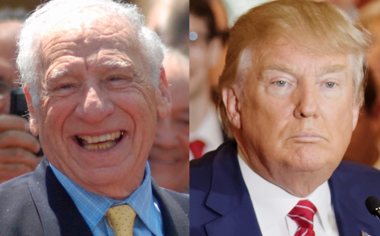 "Mel Brooks Says ""Donald Trump Doesn't Scare Me"""