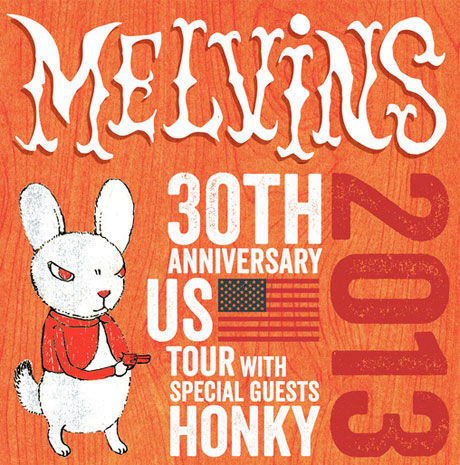 Melvins Announce 30th Anniversary Tour