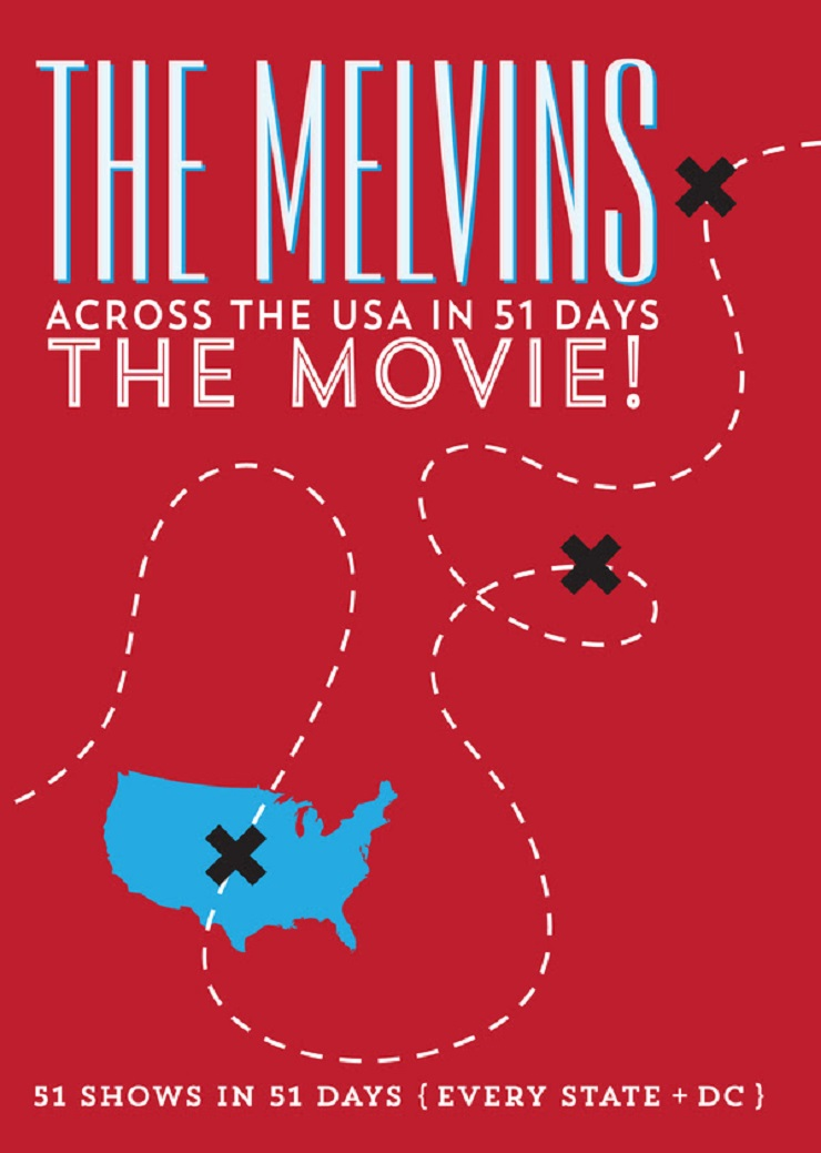 Melvins Ready 'Across The USA in 51 Days: The Movie!'