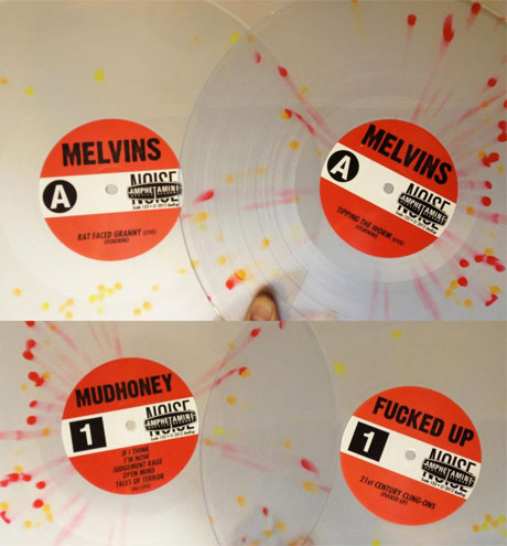 The Melvins Detail Split 12-inches with Fucked Up and Mudhoney