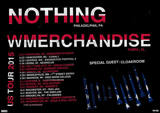 Nothing and Merchandise Team Up for North American Tour