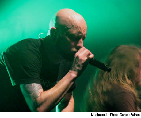 Meshuggah / Baroness / Decapitated Sound Academy, Toronto ON May 17