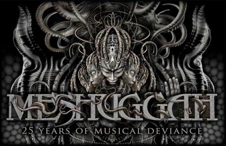 Meshuggah Announce 25th Anniversary Tour