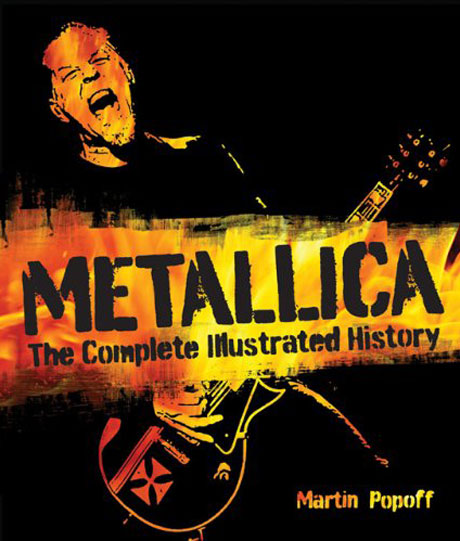 Metallica Chronicled with 'Complete Illustrated History' Book