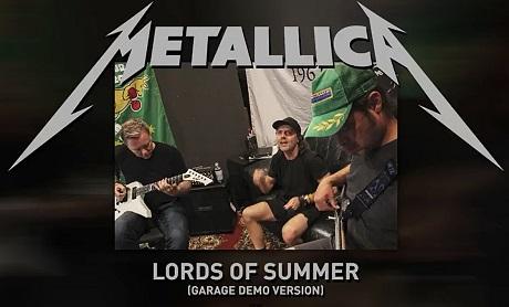 """Metallica """"Lords of Summer"""" (Garage Demo Version)"""