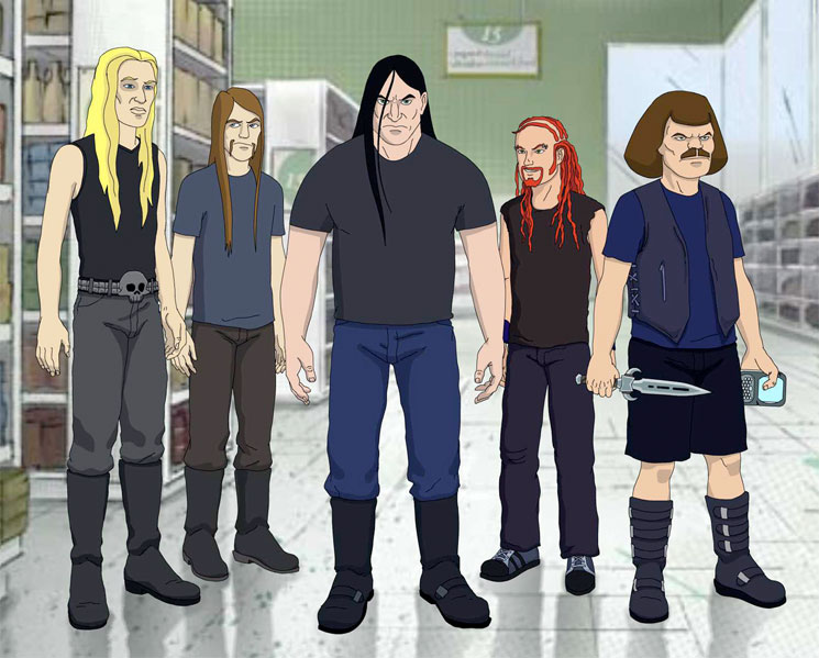 Adult Swim Reportedly Rejected Fifth Season of 'Metalocalypse'