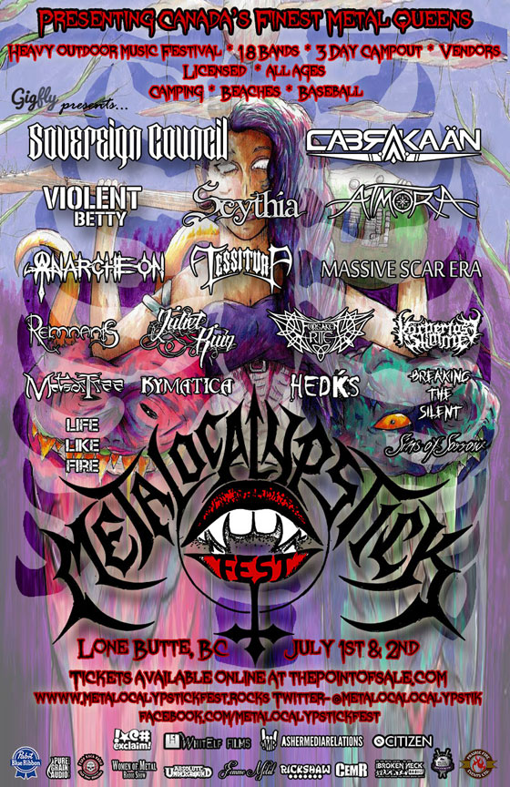 BC's Metalocalypstick Fest Gears Up for 2017 Edition