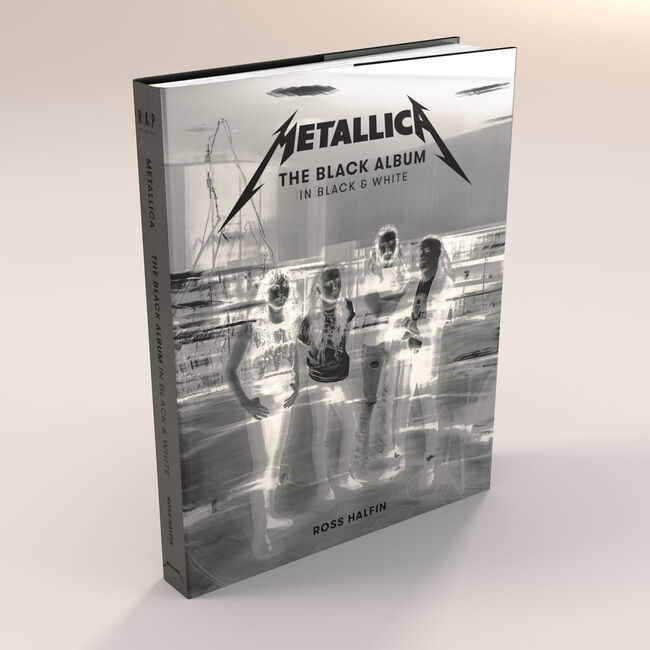 Metallica Are Publishing a Book of Photography from 'The Black Album'