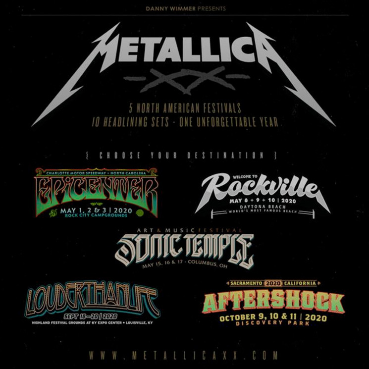 Here's What Metallica Were Counting Down To