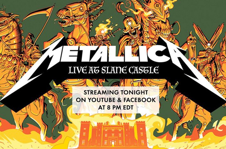 Metallica Launch Weekly Self-Isolation Livestream