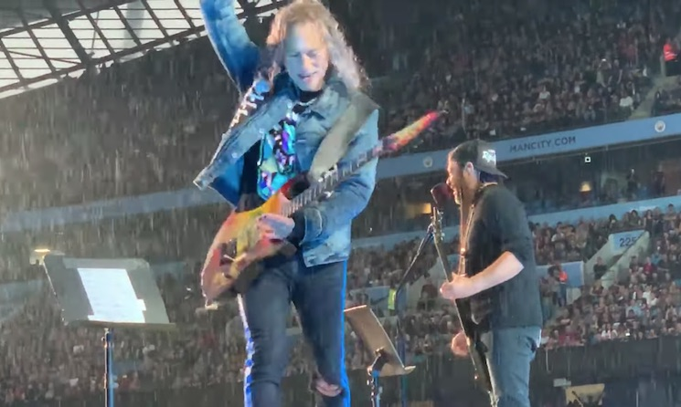 Watch Metallica Cover the Stone Roses' 'I Wanna Be Adored' in Manchester