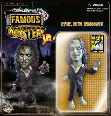 Metallica's Kirk Hammett Gets His Own Zombie Action Figure