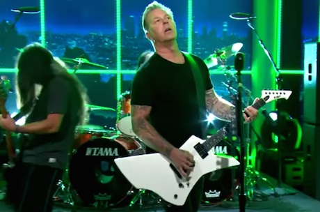 "Metallica ""For Whom the Bell Tolls"" (live on 'Ferguson')"