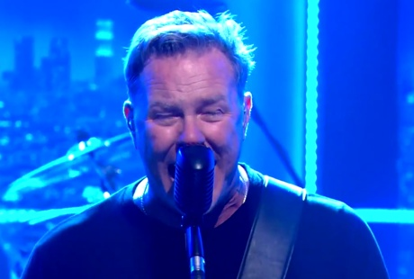 "Metallica ""Enter Sandman"" (live on 'Ferguson')"