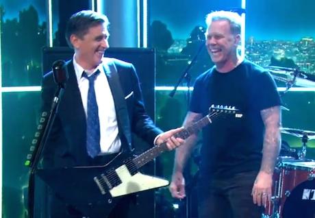 "Metallica ""Sad But True"" (live on 'Ferguson')"