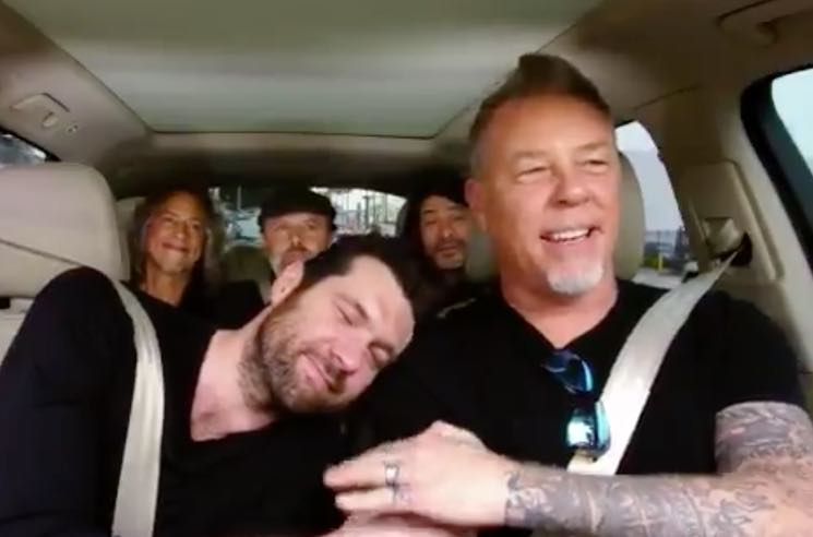 ​Metallica Preview Their 'Carpool Karaoke' Episode