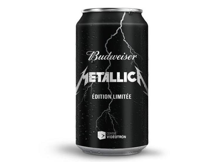 Metallica Get Limited Edition Budweiser in Quebec