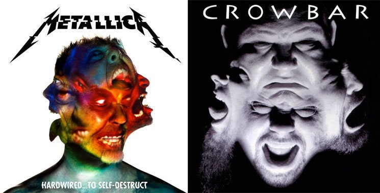 Metallica's New Album Cover Looks Suspiciously Like Crowbar's 'Odd Fellows Rest'