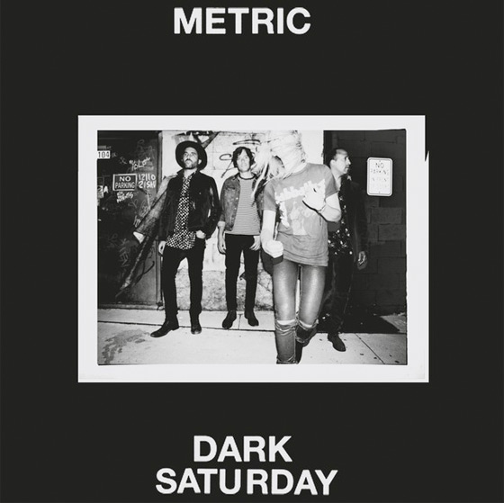 "Metric Return with New Song ""Dark Saturday"""