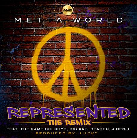 Metta World Peace 'Represented' (remix) (ft. The Game, Big Noyd, Big Kap, Deacon & Benji)