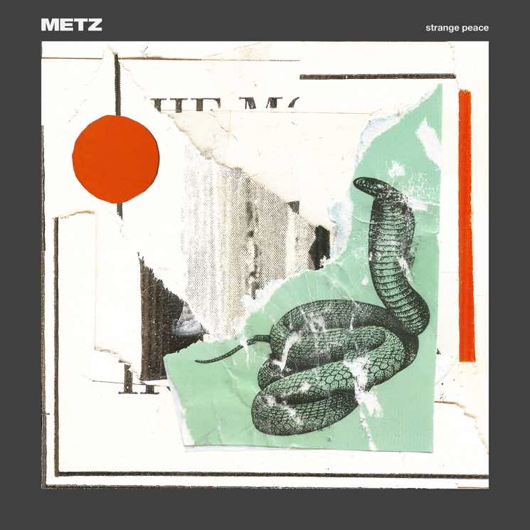 "​METZ Reveal 'Strange Peace' LP, Share ""Cellophane"""
