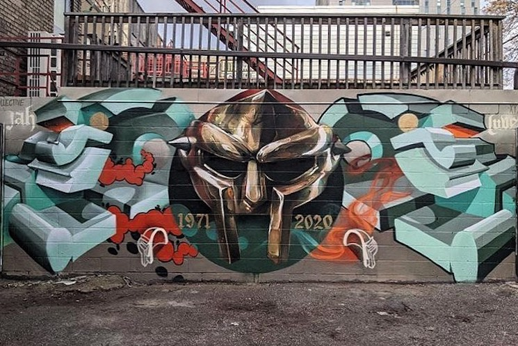 Toronto Just Got a Massive MF DOOM Mural