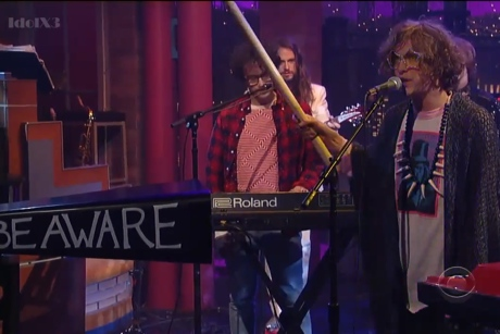 MGMT 'Your Life Is a Lie' (live on 'Letterman')