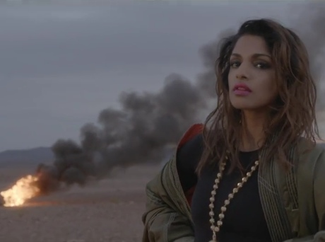 M.I.A. 'Bad Girls' (video)