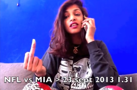 M.I.A. Issues Statement Regarding Legal Battle with NFL over Middle Finger Incident