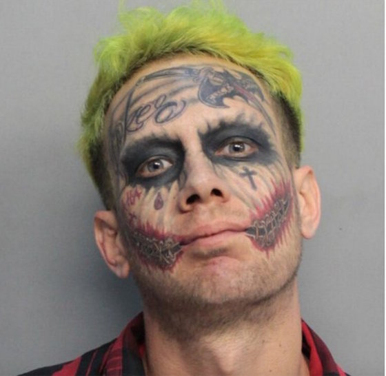 Florida Man Dressed as the Joker Arrested for Pointing Loaded Gun at Traffic
