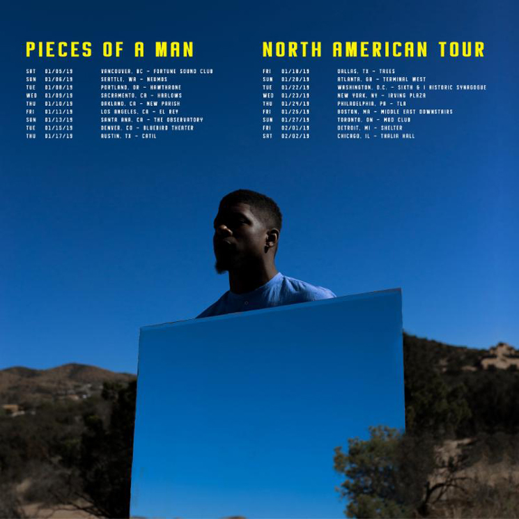Mick Jenkins Maps Out North American Tour, Shares Video