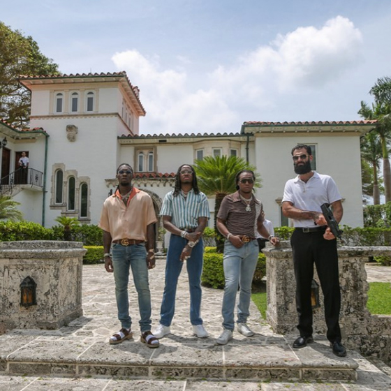 "Migos Shot Their ""Narcos"" Video at Madonna's House"