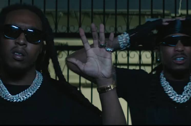 ​Migos Get Busted for Massive Heist in 'Frosted Flakes' Video