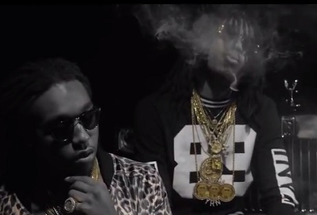 Migos 'Black Bottles' (ft. Rick Ross) (video)