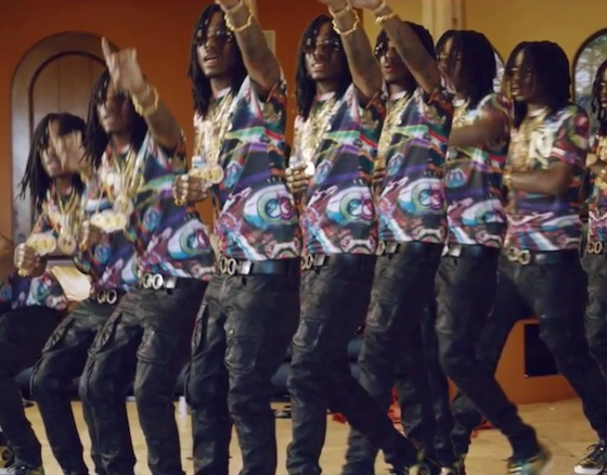 "Migos ""One Time"" (video)"