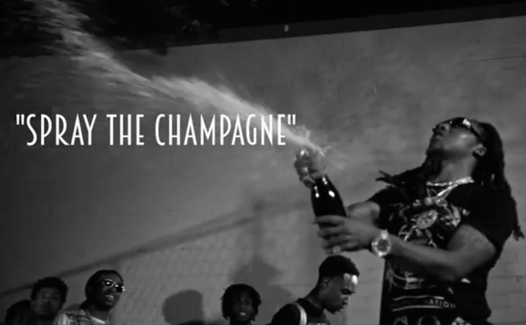 "Migos ""Spray the Champagne"" (video)"