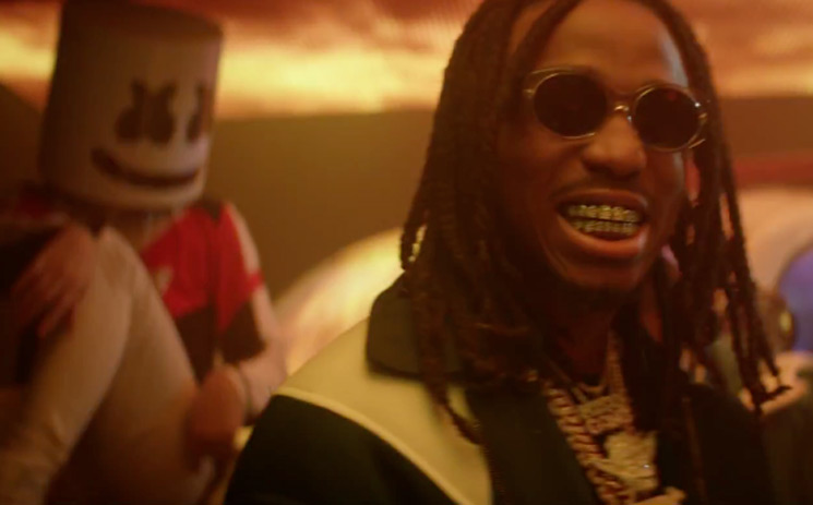 "Migos ""Danger"" (ft. Marshmello) (video)"