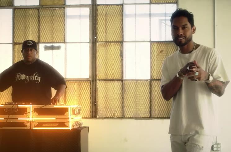 Miguel and DJ Premier '2 LOVIN U' (video)
