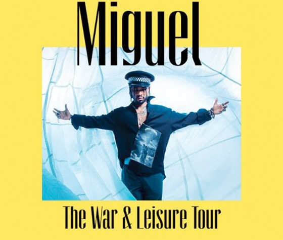 "Miguel Announces ""War & Leisure Tour"""