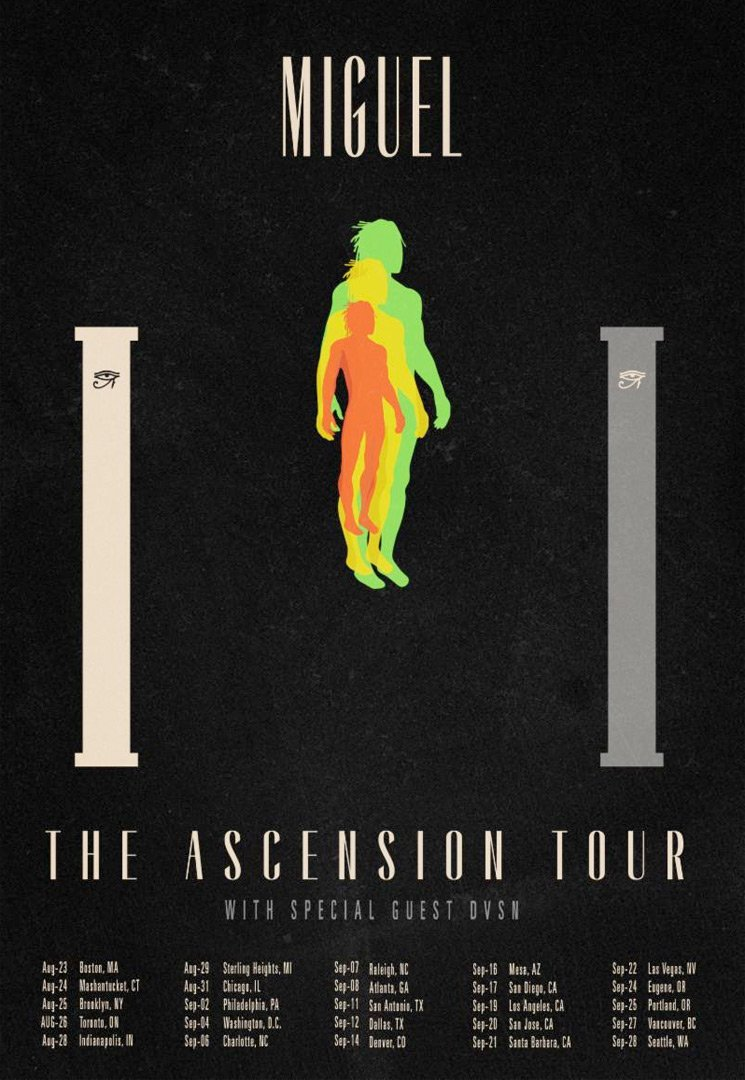 "Miguel Maps Out ""The Ascension Tour"""