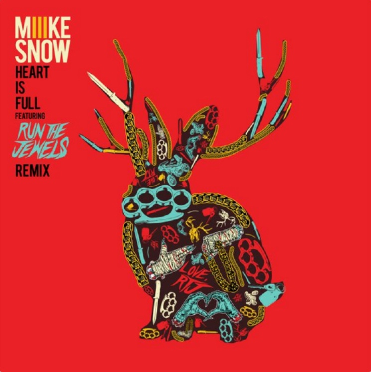 Miike Snow 'Heart Is Full' (Run the Jewels remix)
