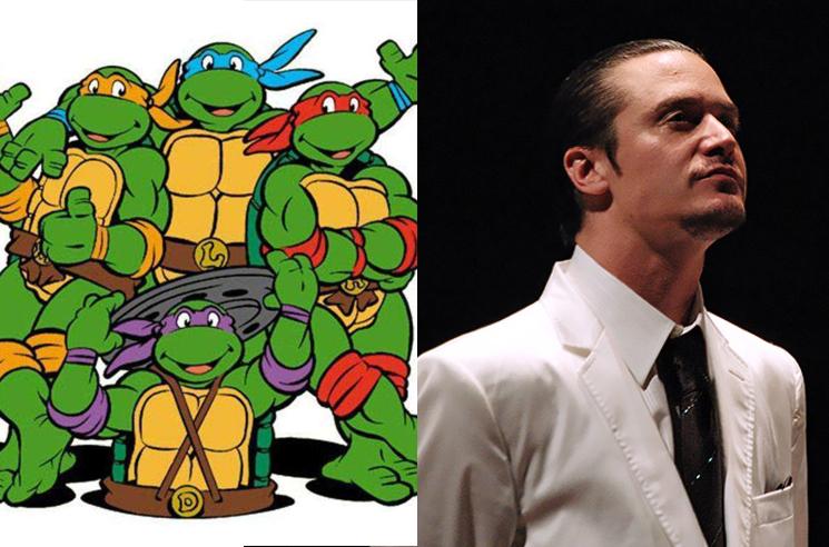 Hear Mike Patton Sing the 'Teenage Mutant Ninja Turtles' Theme Song