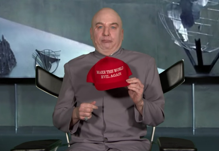 Mike Myers Brings Back Dr. Evil to Poke Fun at Trump on 'Fallon'