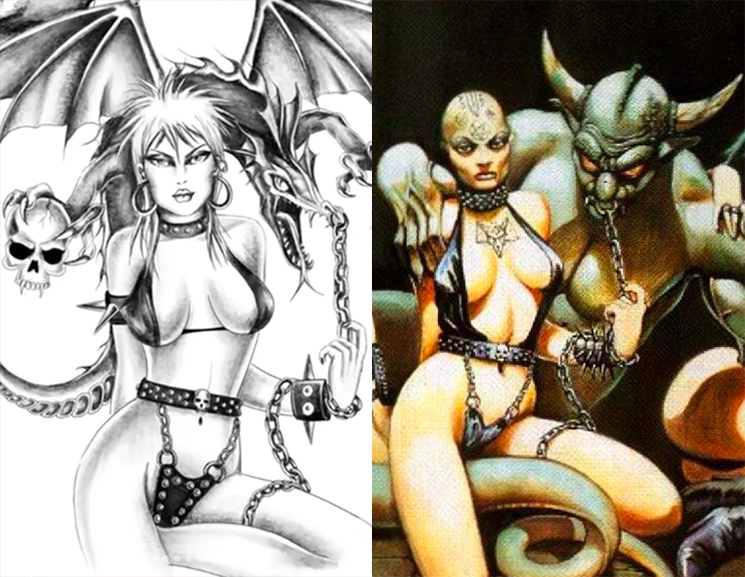 Miley Cyrus Accused of Ripping Off Celtic Frost for New Album Artwork