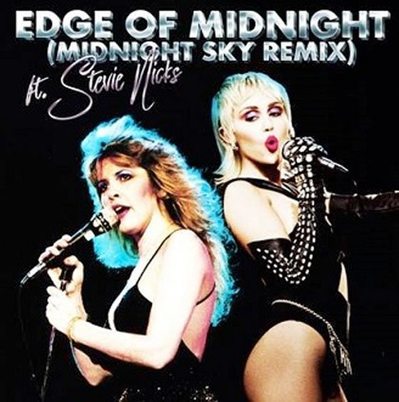 Miley Cyrus and Stevie Nicks Join Forces for 'Edge of Midnight'