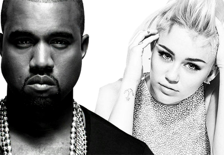 "WTF: Kanye West Reportedly Recruits Miley Cyrus for ""Black Skinhead"" Remix"