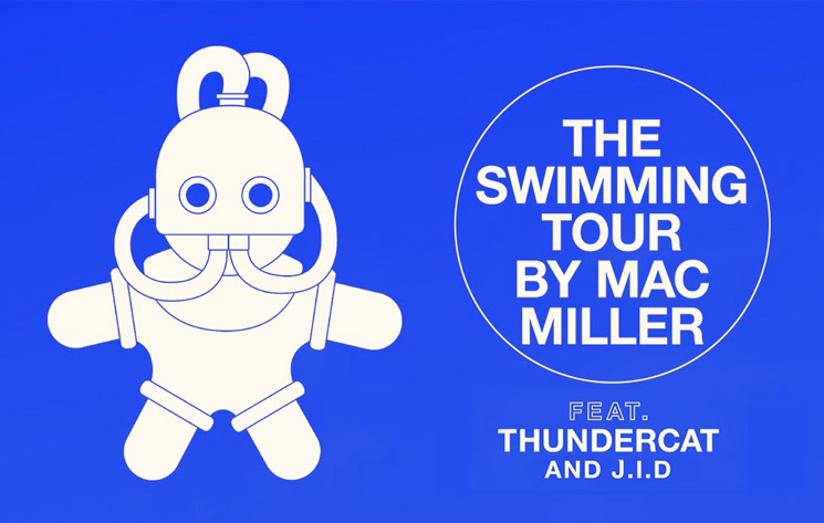 Mac Miller Reveals 'The Swimming Tour' with Thundercat