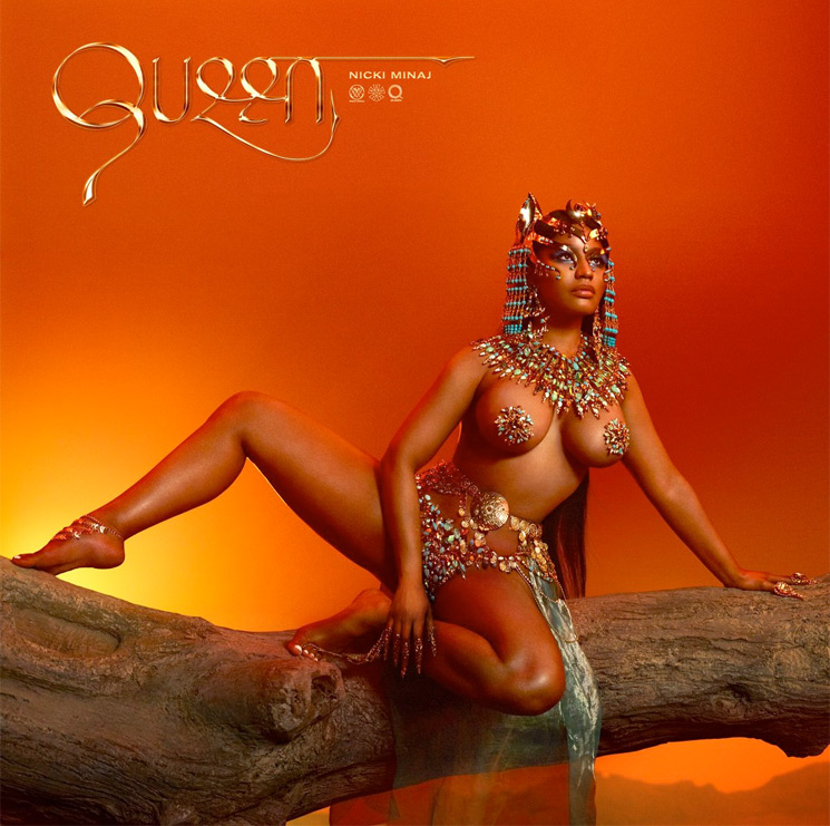 Here's the Full-On Cover for Nicki Minaj's 'Queen'